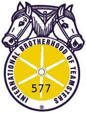 Logo of the Amarillo Teamsters Union 577