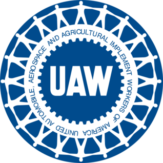 Endorsment of the United Automobile, Aerospace, and Agricultural Implement Workers of America